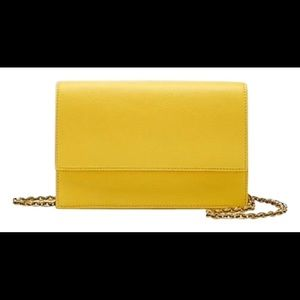 NWT J. Crew convertible clutch purse with chain